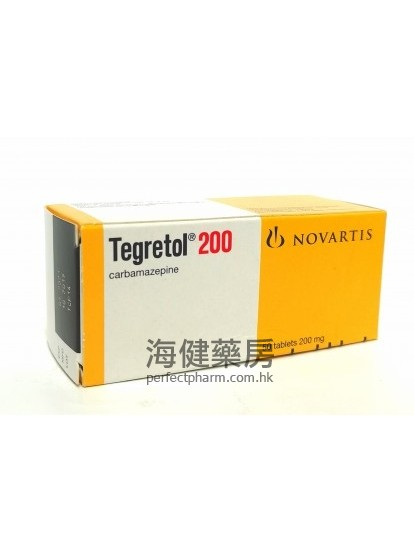 卡馬西平 Tegretol 200 (Carbamazepine) 50Tablets