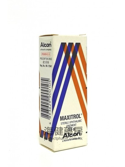 Maxitrol Ophthalmic Ointment 3.5g Alcon