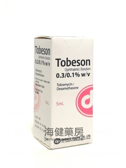 Tobeson Ophthalmic Solution 5ml