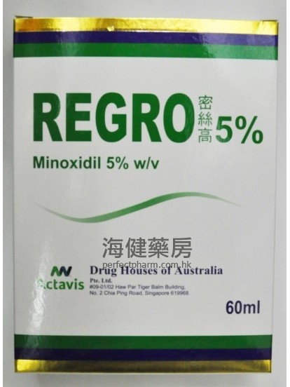 密絲高Regro (Minoxidil) 5% 60ml