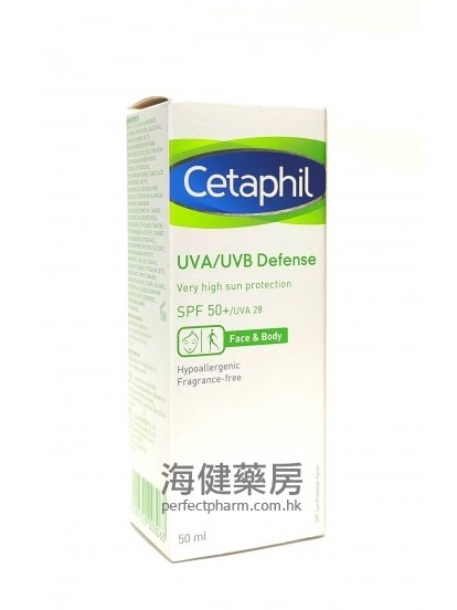 舒特膚防曬乳液 Cetaphil UVA UVB Defence 50ml