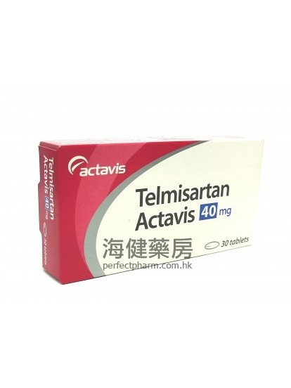 替米沙坦 Telmisartan Actavis 40mg 30Tablets