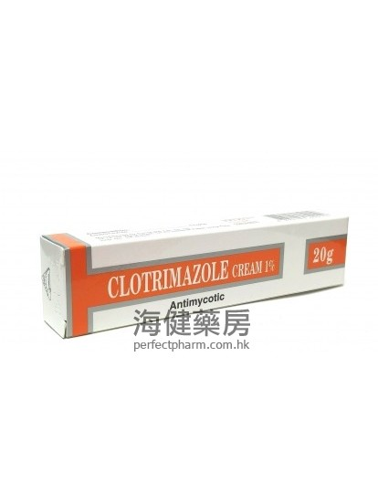 Clotrimazole Antimycotic Cream 20g 克霉唑