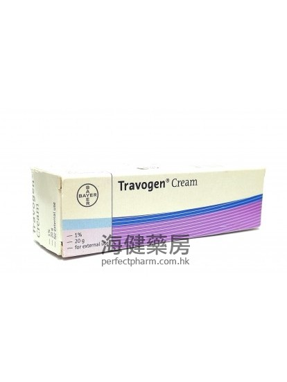 Travogen Cream 1% 20g